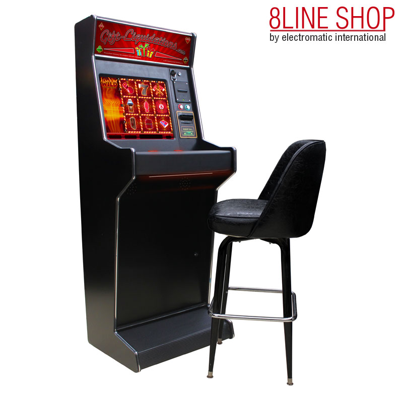 8Line Shop Standard Upright 8line Cherry Master Cabinet